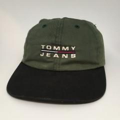 90's tommy hilfiger jeans strap back hat