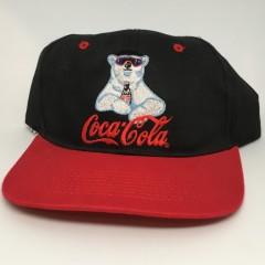 vintage 90's coca cola snapback hat