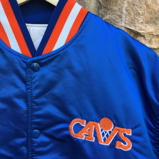 vintage Cleveland Cavaliers Starter Satin bomber jacket OG