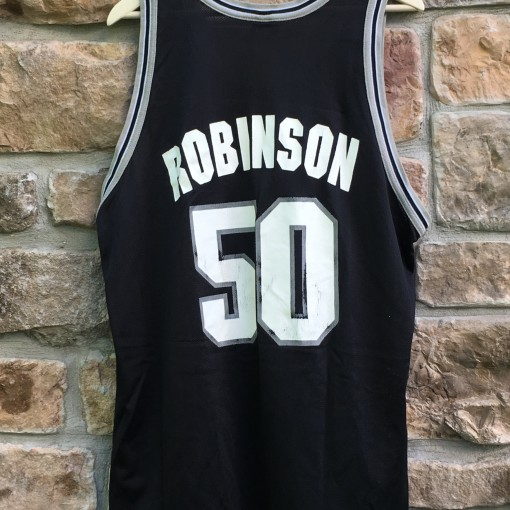 90's David Robinson San Antonio Spurs Champion NBA jersey size 48 extra large xl