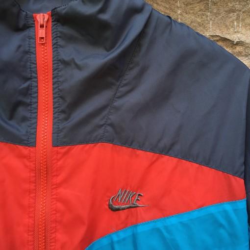 vintage 80's 90's nike windbreaker jacket