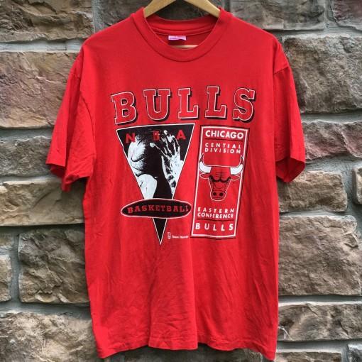 vintage 90's Chicago Bulls NBA t shirt size large