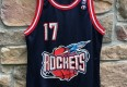 vintage 90's mario Elie Houston Rockets Champion jersey size 40 medium
