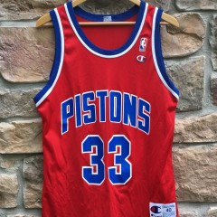 vintage Detroit Pistons Champion NBA jersey size 40