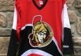 vintage 1999 Ottawa Senators CCM Red alternate NHL hockey jersey size medium
