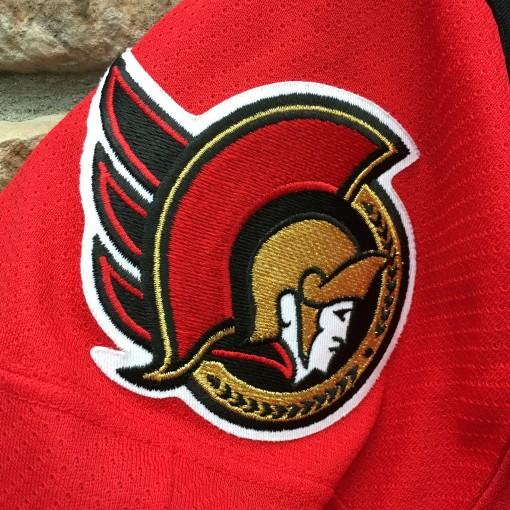 Vintage Ottawa senators red jersey