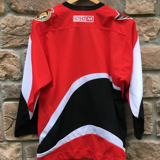 blank vintage Ottawa senators jersey size medium red 90's