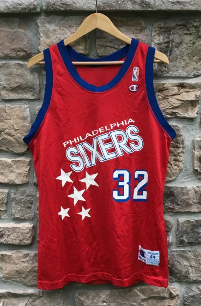 476b2b0d4 ... germany 1991 92 philadelphia sixers charles barkley champion nba jersey  size 44 large a4695 0bb4e