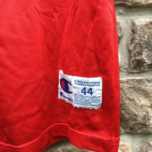 size 44 large champion nba jersey