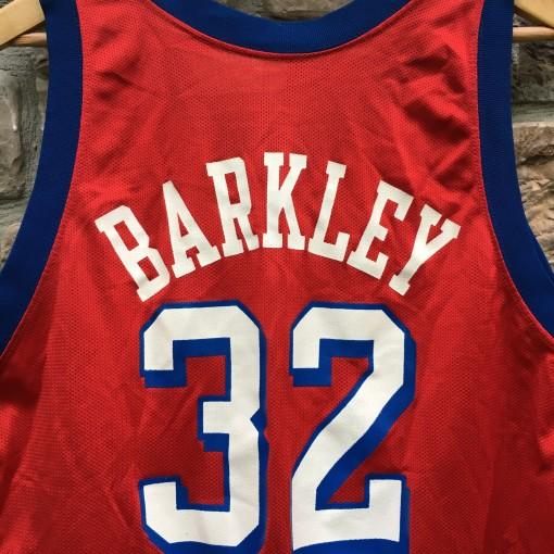 vintage charles barkley #32 champion NBA jersey