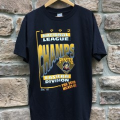 1992 Pittsburgh pirates division champinos