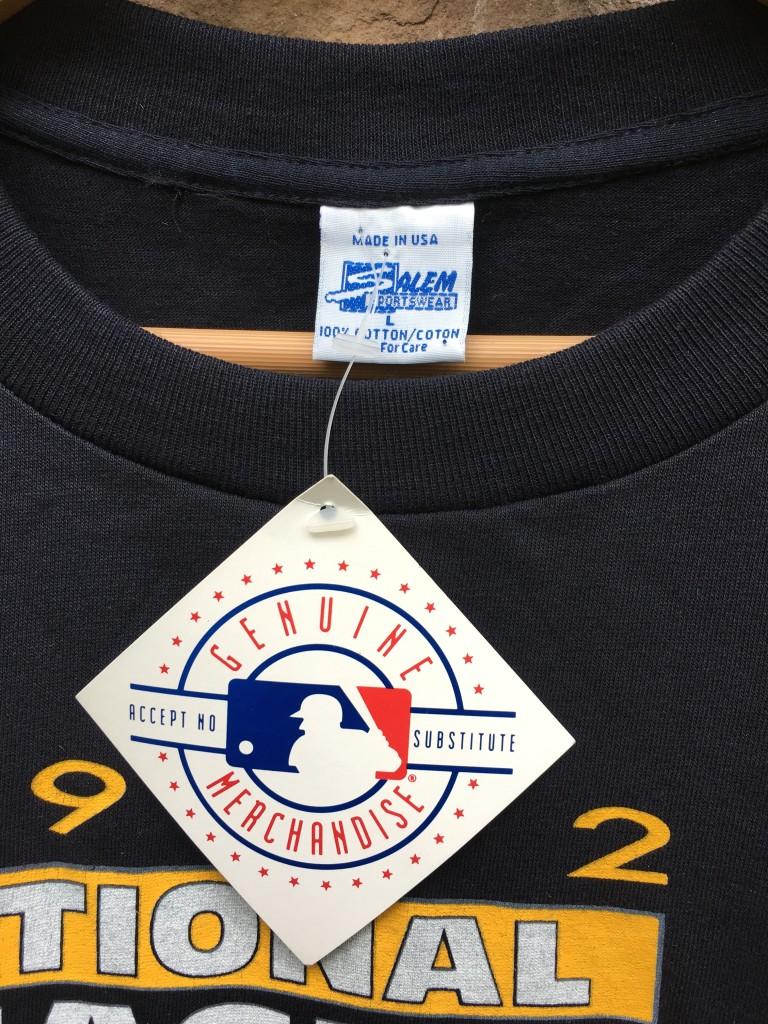 1992 Pittsburgh Pirates NL East Champs Salem MLB T Shirt Size Large ... 41b7be1e3