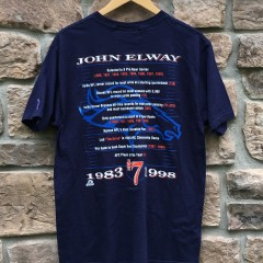 Vintage 1998 John Elway Pro Player denver broncos NFL shirt size medium
