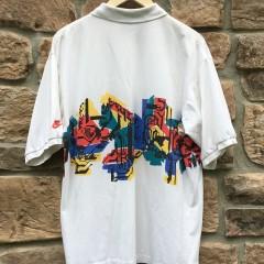 vintage 90's Nike Tennis tech challenge polo shirt sampras agassi