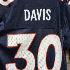 vintage 1998 Denver Broncos Terrell Davis Starter NFL jersey size 46 M