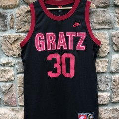 1993 Rasheed Wallace Simon Gratz high school nike tag talented and gifted jersey size medium