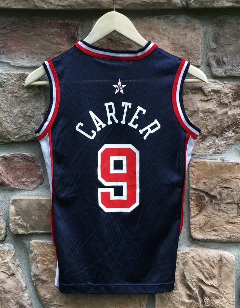 1a341c0e455 vintage 2000 vince carter team usa olympic champion basketball jersey youth  size small