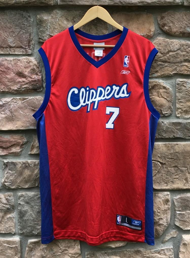 32566cd8c5ee 2002 Lamar Odom Los Angeles Clippers Reebok NBA Jersey Size Large ...