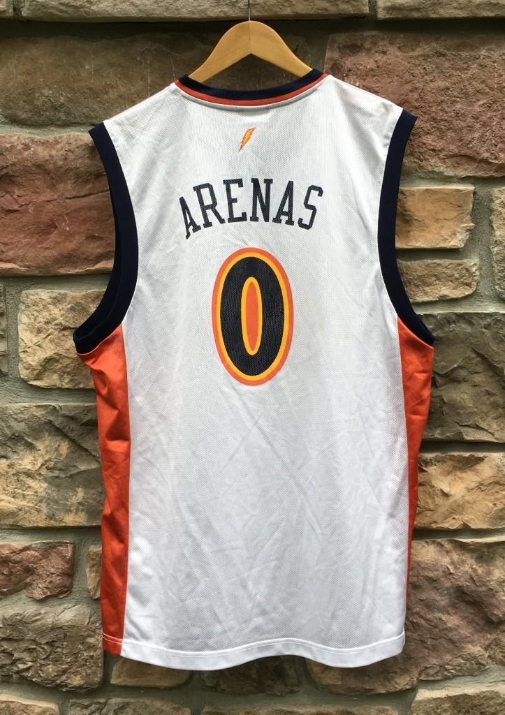 2002 Gilbert Arenas Golden State Warriors Reebok NBA ...