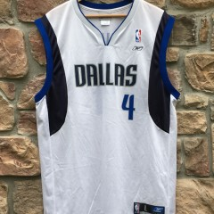 2002 Michael Finley Dallas Mavericks Reebok NBA jersey size large
