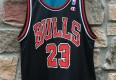 90's Grant Hill Detroit Pistons Michael Jordan Chicago Bulls Reversible Champion NBA jersey size 40 medium