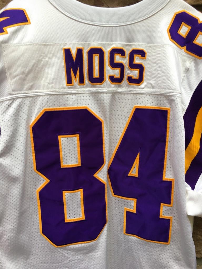 reputable site 0402c 42880 2001 Randy Moss Minnesota Vikings Authentic Reebok NFL Jersey Size 52