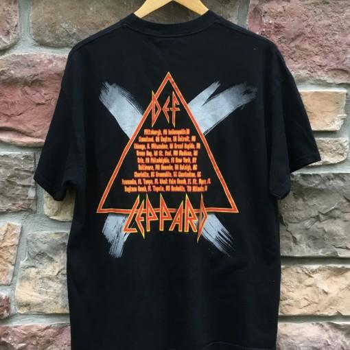 2002 Def Lepard Concert tour t shirt size xl