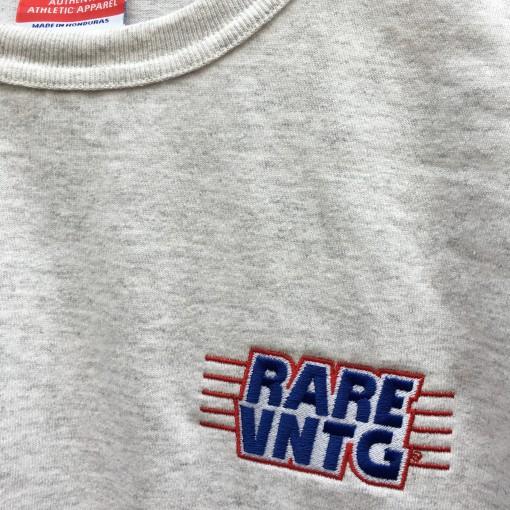 Rare Vntg Champion Heritage shirt  ash grey