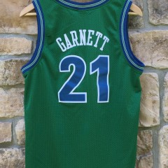 1995 Minnesota Timberwolves Kevin Garnett Nike Rewind NBA swingman jersey youth large green