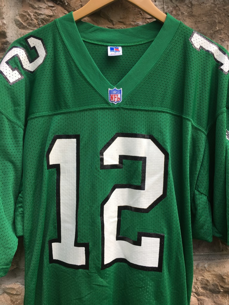 new concept 62ab7 60fa7 1991 Randall Cunningham Philadelphia Eagles Authentic Russell NFL Jersey  Size 44