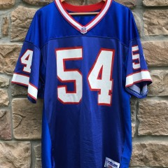 1997 Chris Spielman Buffalo Bills Authentic Wilson Pro Line NFL jersey size 54