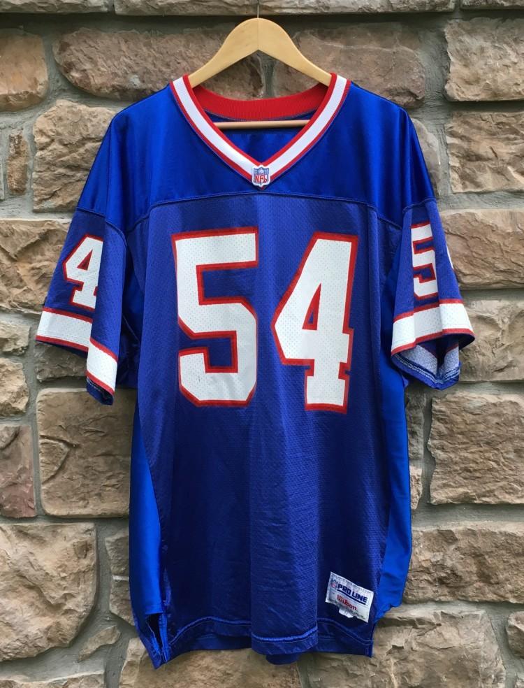 half off 4d2af 3cfb1 1997 Chris Spielman Buffalo Bills Authentic Wilson NFL Jersey Size 54