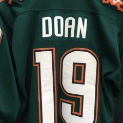 2000 Shane Doan Phoenix Coyotes CCM Alternate Jersey Size Medium