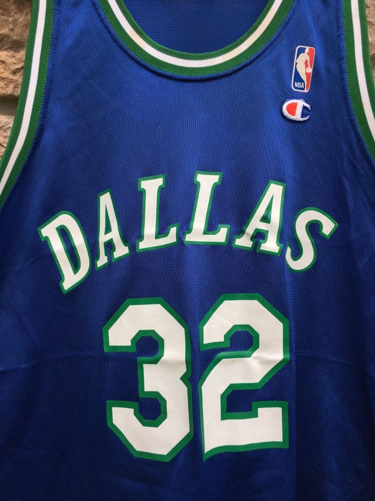 1994 Jamal Mashburn Dallas Mavericks Champion NBA Jersey Size 48 ... 97ad715a7