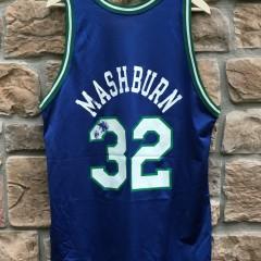90's Dallas Mavericks Jamal Mashburn Champion NBA jersey size 48