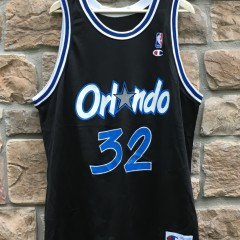1993 Shaquille Shaq O'neal Orlando Magic Champion NBA Jersey size 48
