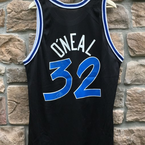 1993 Shaquille Shaq O'neal Orlando Magic Champion NBA Jersey size 48