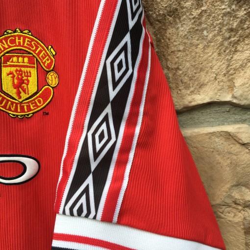 1998 Manchester United Futbol Jersey Soccer Size XL 90's Umbro
