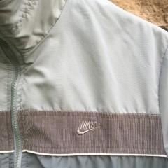 80's Nike Grey Corduroy track jacket size small