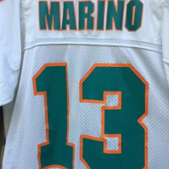 1995 Miami Dolphins Dan Marion Starter NFL jersey size XL 52