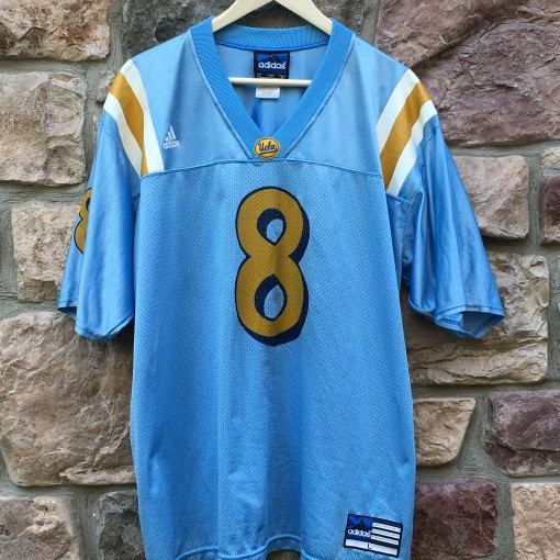 Vintage UCLA Bruins Adidas #8 Troy Aikman Football Jersey size large
