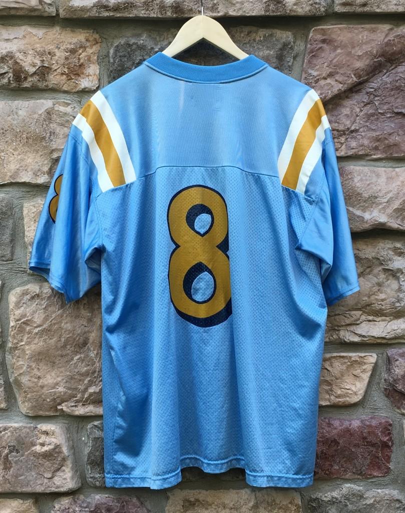 size 40 7c057 7f6c7 Vintage Troy Aikman UCLA Bruins Adidas NCAA Football Jersey Size Large