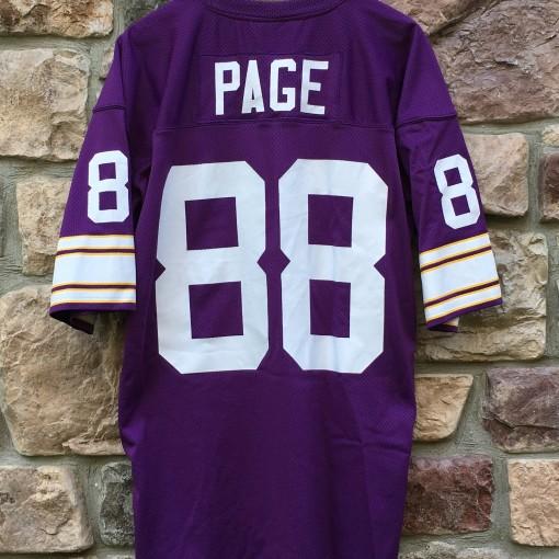 1975 Alan Page Minnesota Vikings Mitchell & Ness NFL jersey size 48 XL