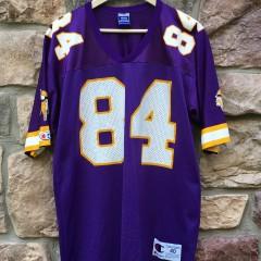 0e99b73145f 1998 Minnesota Vikings Randy Moss Champion NFL jersey size 40 medium