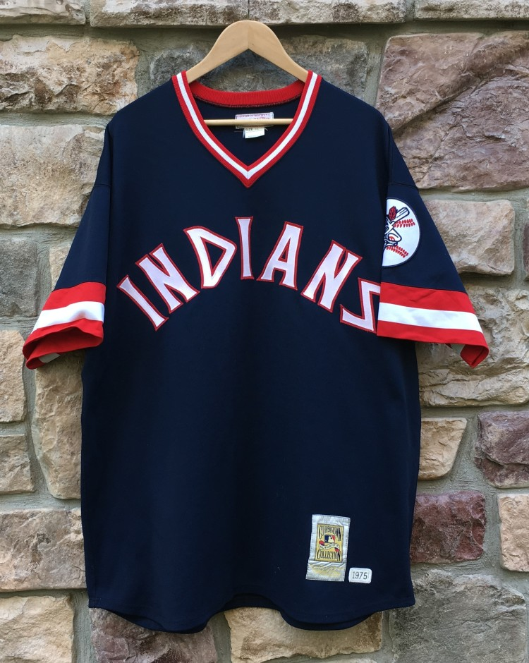 new styles e4533 264d6 1975 Frank Robinson Cleveland Indians Mitchell & Ness MLB Jersey Size 2XL