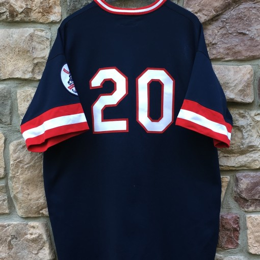 1975 Frank Robinson Cleveland Indians Mitchell & Ness MLB jersey size 2XL