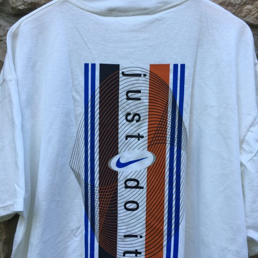 90's deadstock Nike Just Do it t shirt white size XL