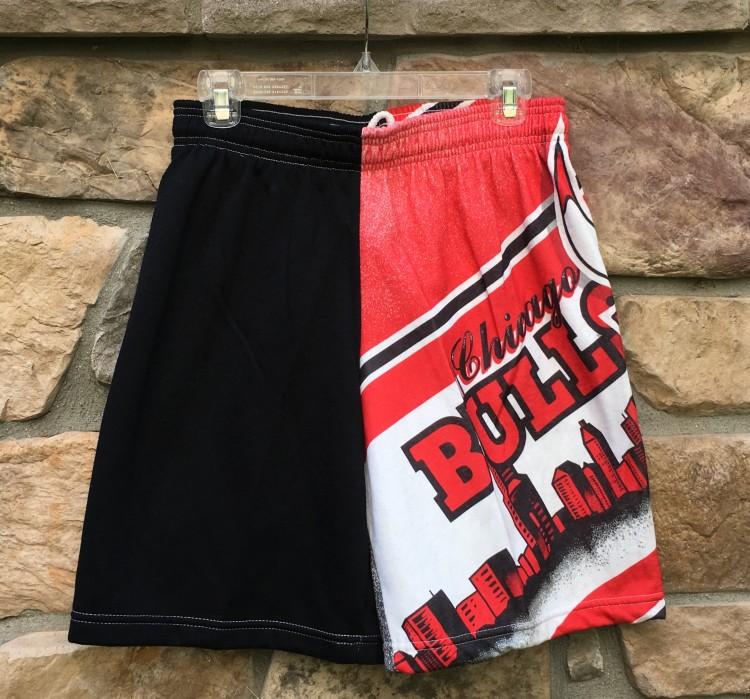305253e6b24 90's Chicago Bulls Chalkline Fanimation NBA Shorts | Rare Vntg