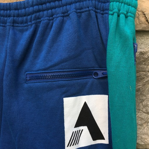 deadstock 90's Adidas Sweatpants blue aqua size large
