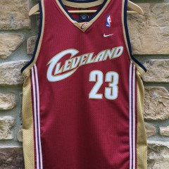 2003 Cleveland Cavaliers LeBron James Nike NBA Swingman jersey youth size XL